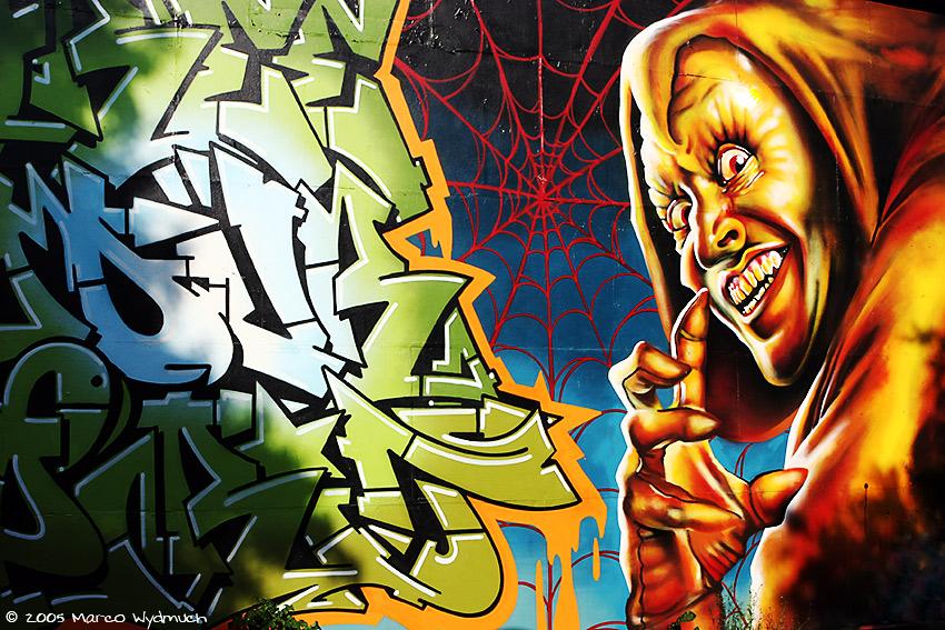 Graffiti at Christiana