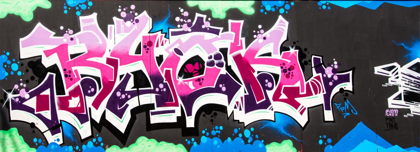 Graffiti EZB