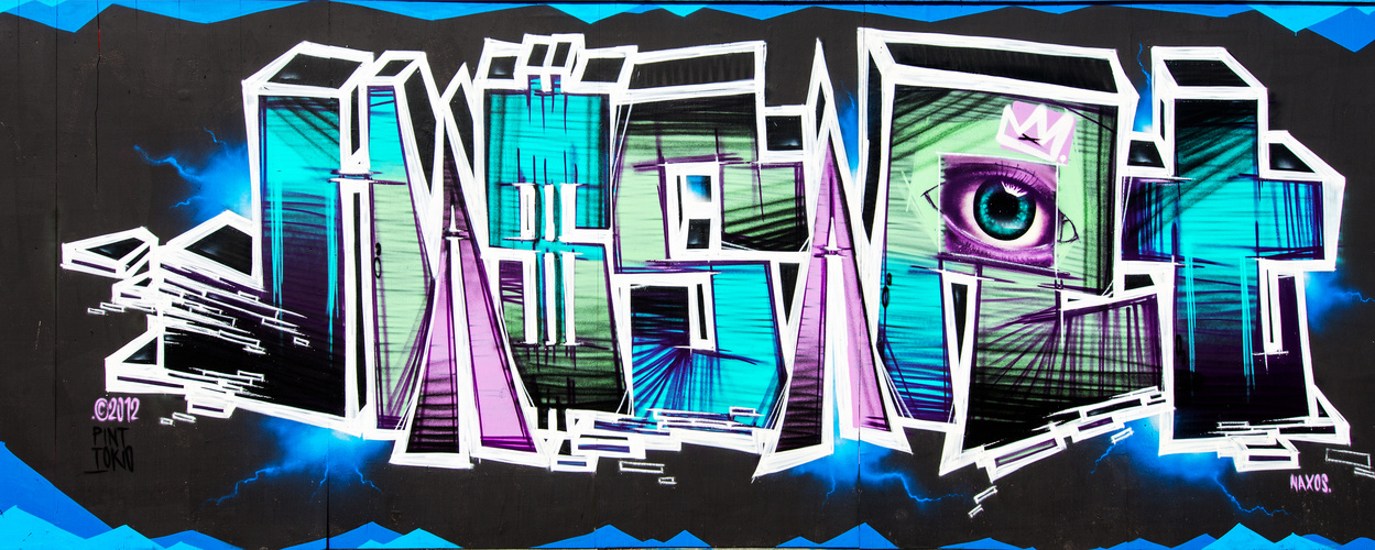 Graffiti EZB_1