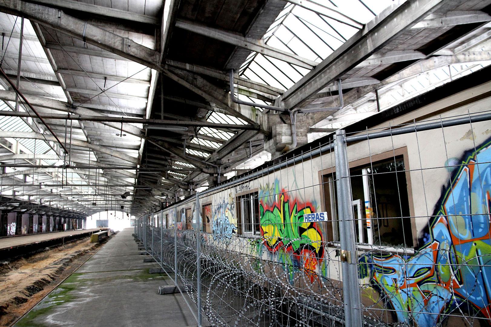 Graffiti gegen den Verfall........................................!