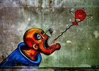 Graffiti ( gesehen in der Lungenheilklinik am Grabowsee )