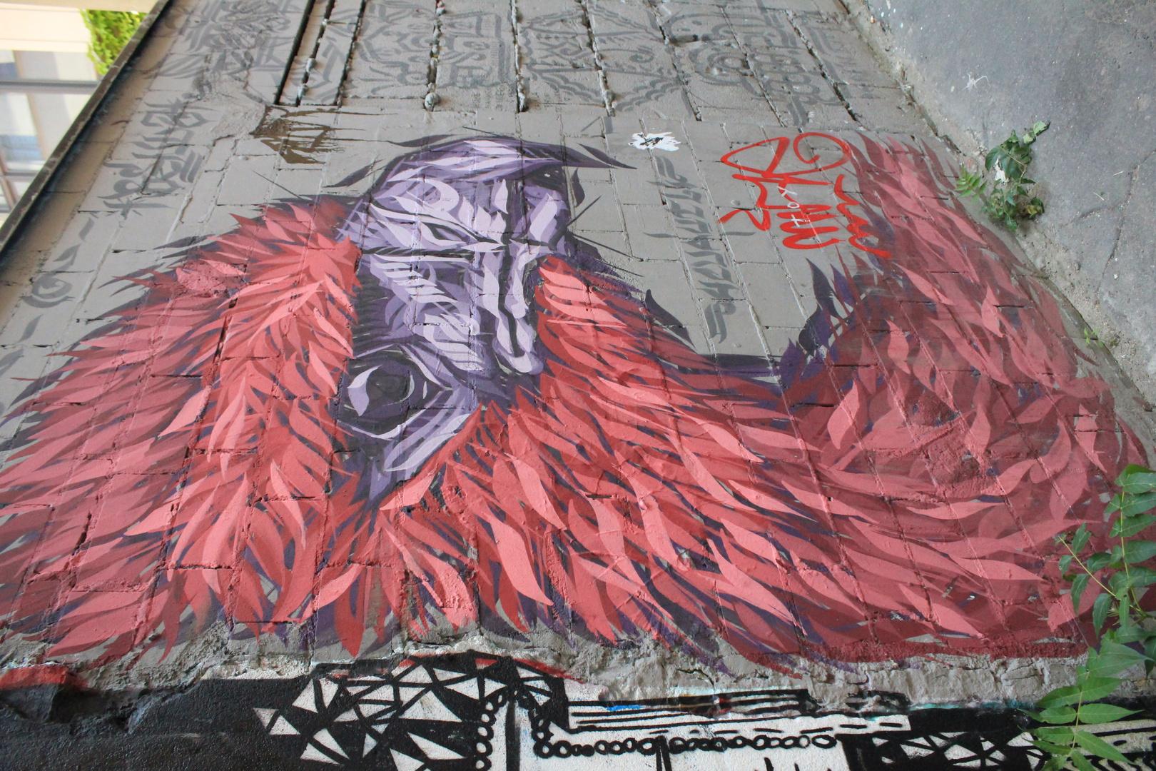 Graffiti Hackesche Höfe Berlin
