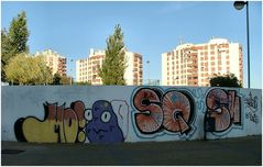 ...Graffiti in giardino...