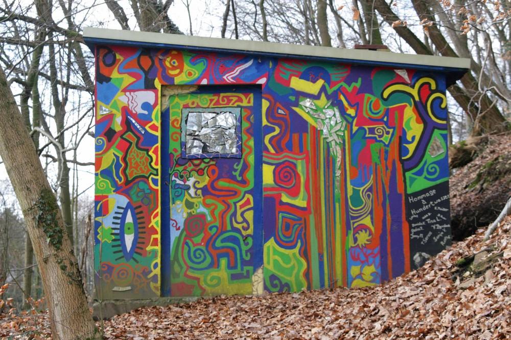 Graffiti mal schön...