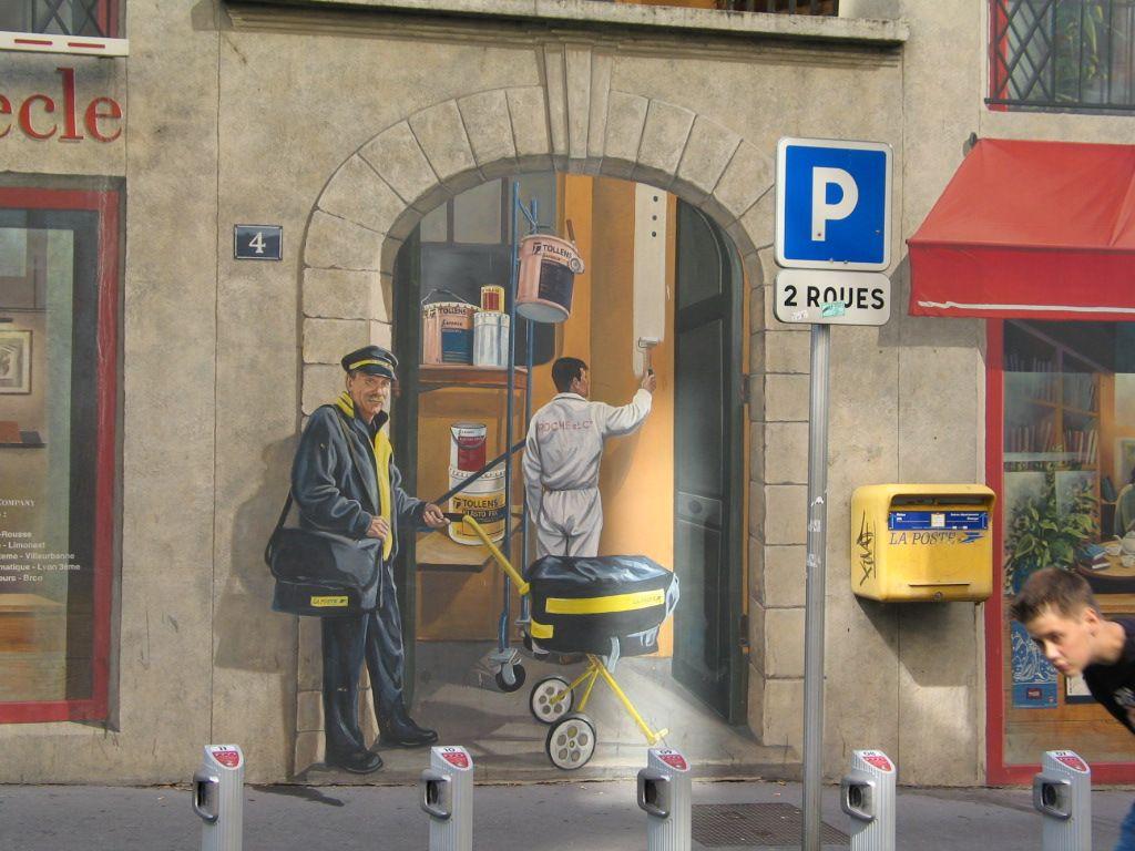 Graffiti - Postman