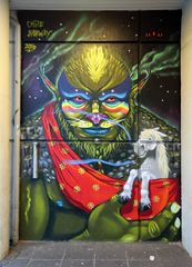 Graffiti (Reykjavík / Island)