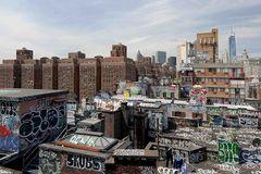 Graffiti rules One World Trade Center