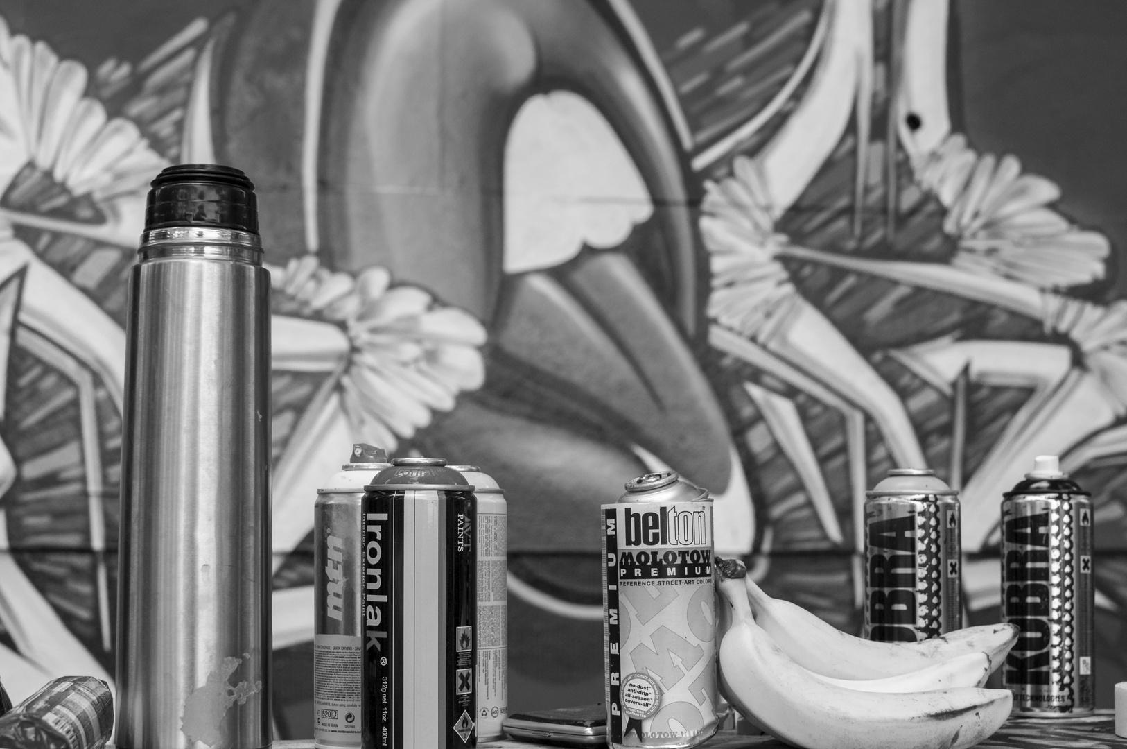 Graffiti - Stillleben