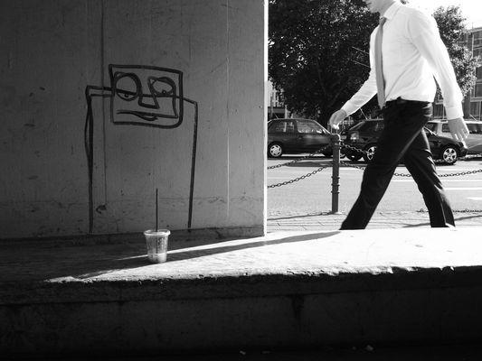 Graffiti und Kaffee