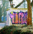 Graffiti und Müll