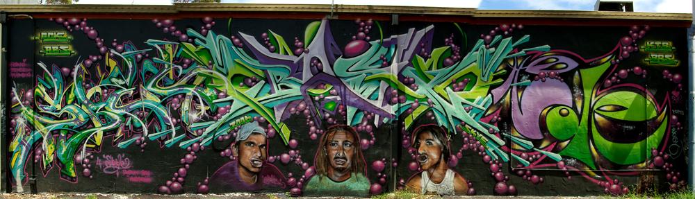 Graffiti vom Feinsten