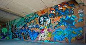 Graffiti-Wand von ReDe