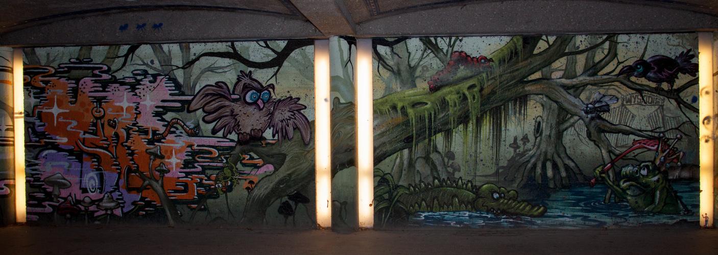 Graffiti wie man es sich wünscht