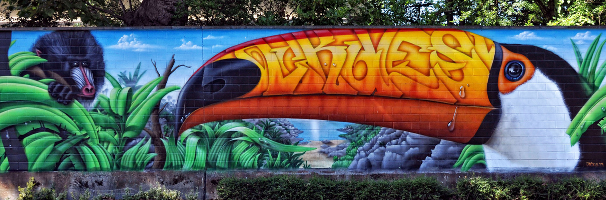 Graffiti Zoo Köln