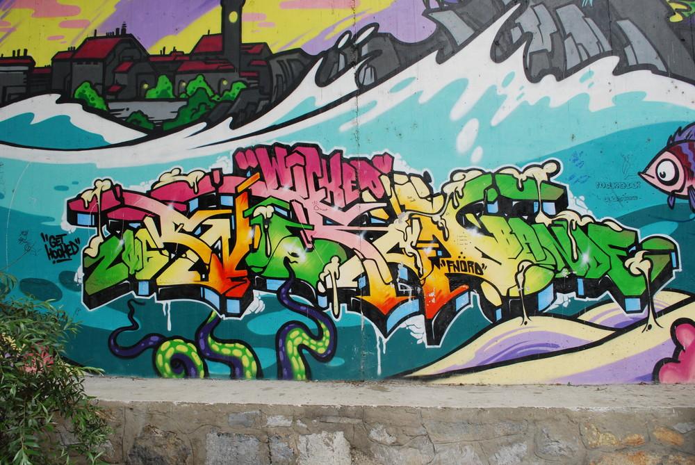 Graffiti,Graz Center