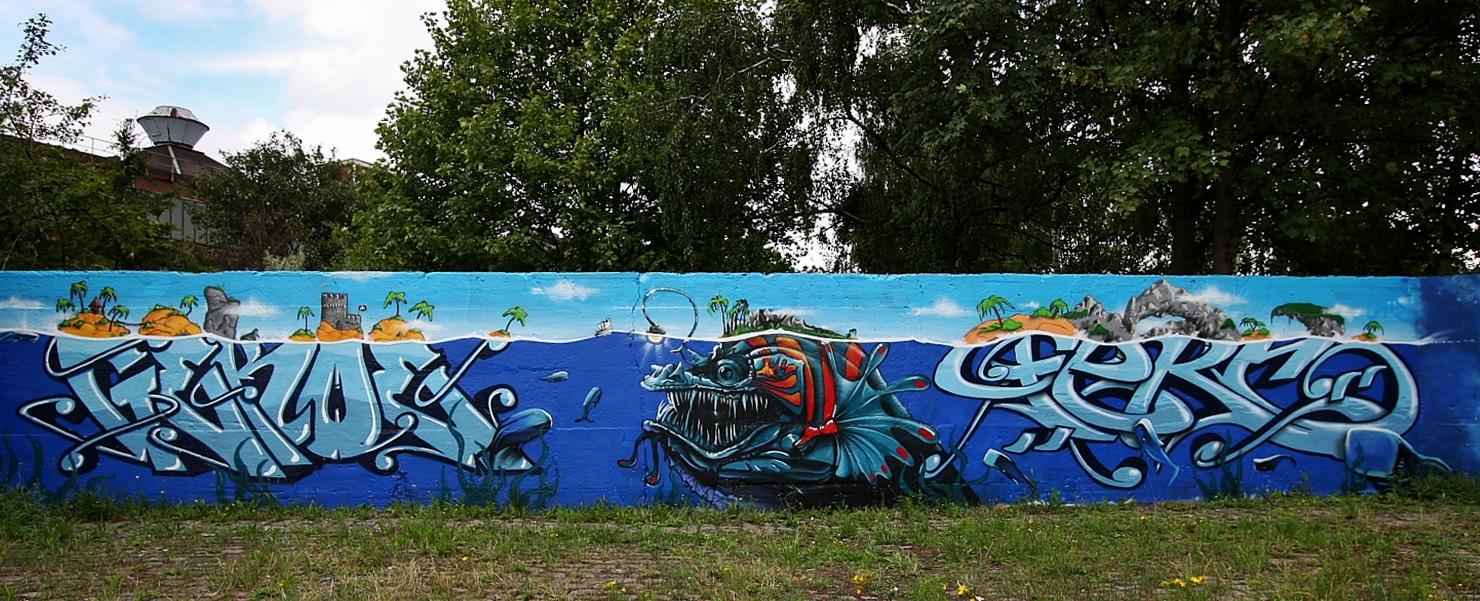 Graffitikunst....
