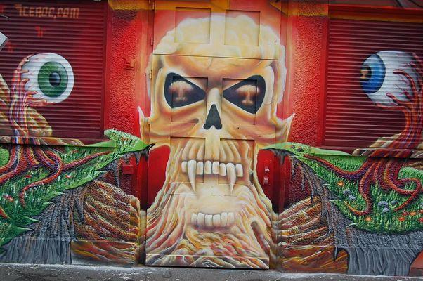 Graffiti@Rote Fabrik Zürich