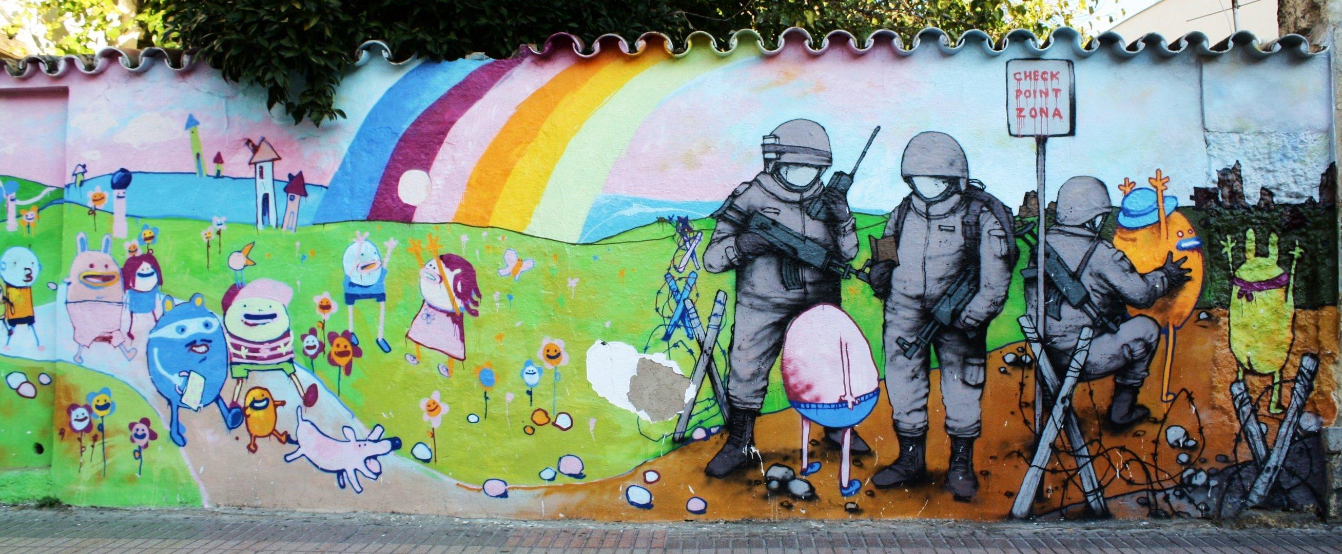 Graffitis de Cordoba.