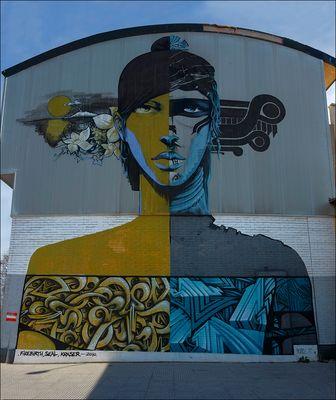 Graffitis de mi ciudad I