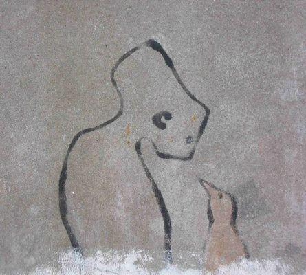 Graffito Brüssel