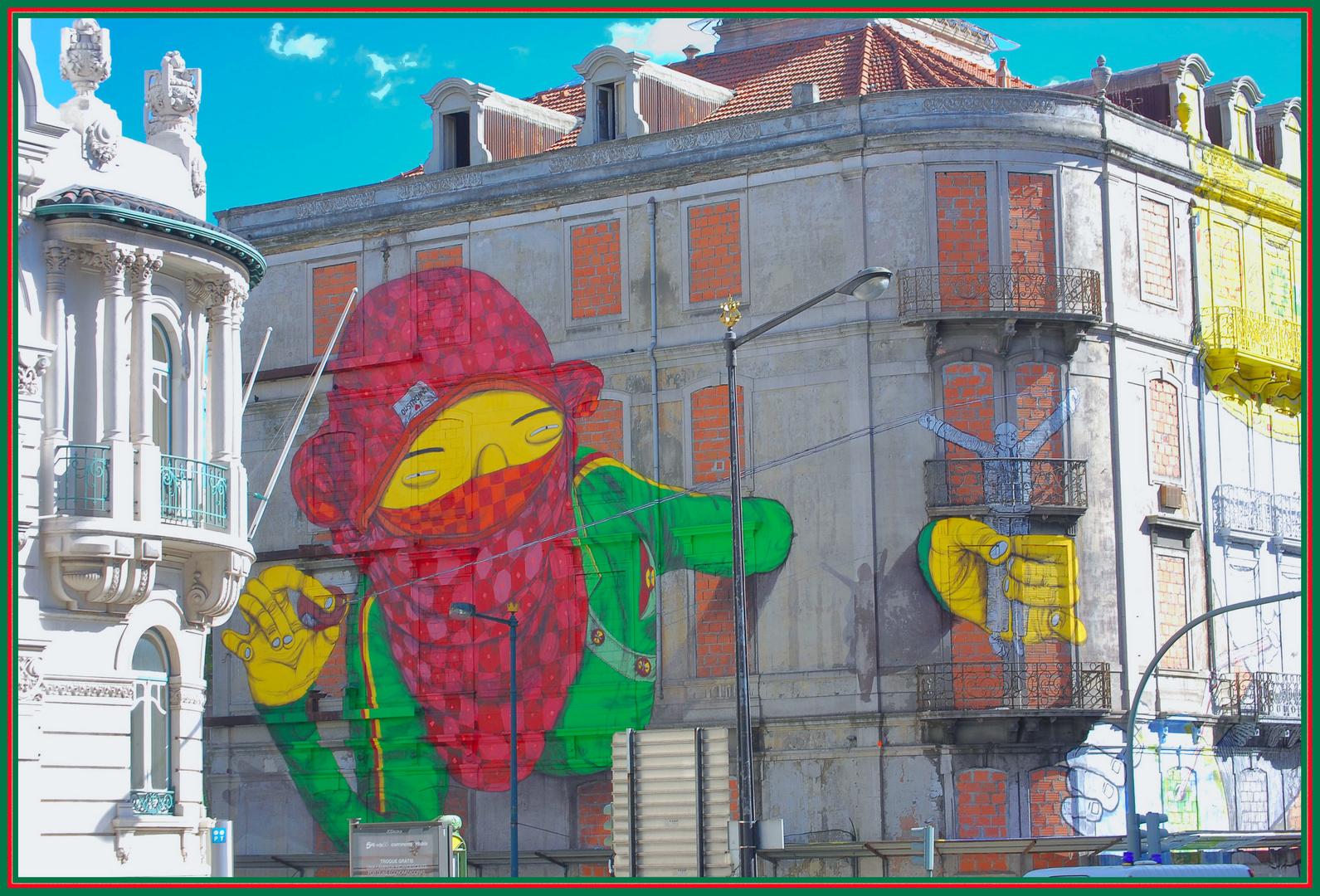 Graffitti. Lisboa
