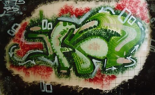 Graffity im alten Russenkrankenhaus