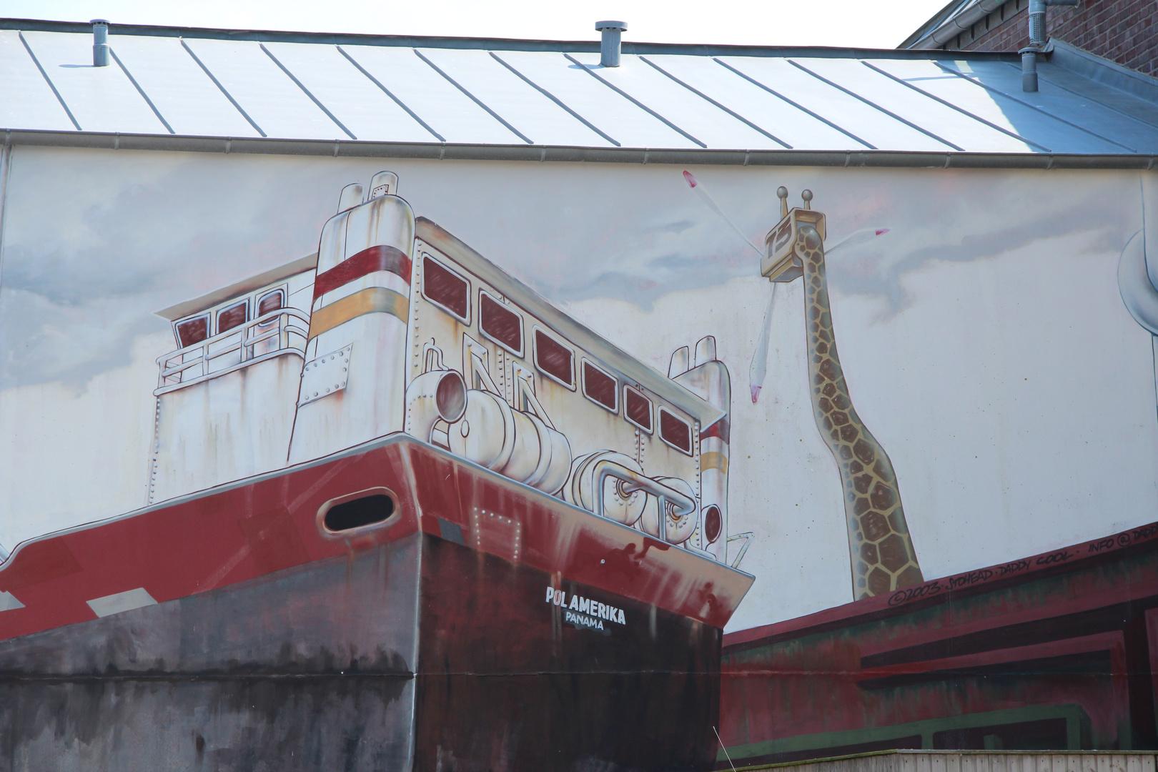 Grafiti an der Wand