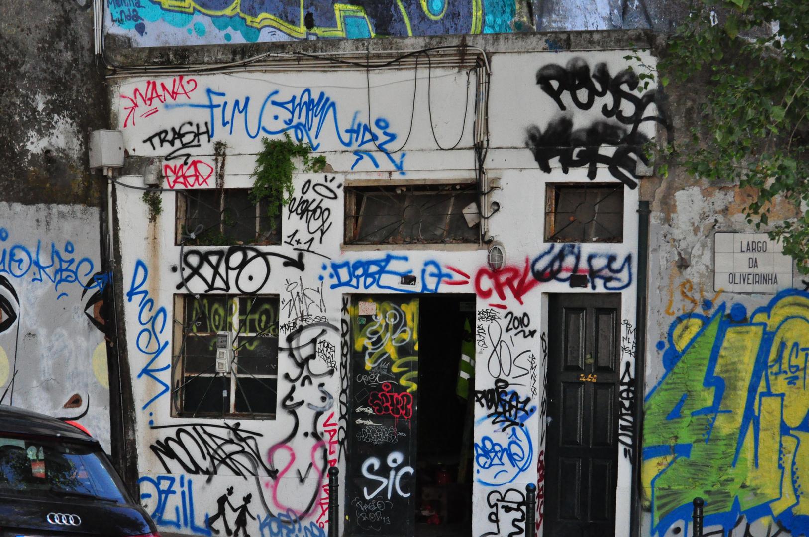 Grafiti-Schmiererei