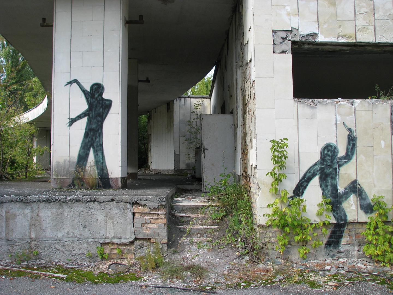 grafitti in prypjat