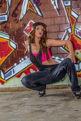 Grafitti-Shooting mit Vivien 4