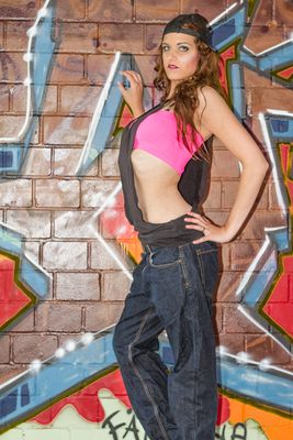 Grafitti-Shooting mit Vivien 7
