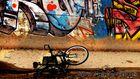 Grafitti und Fahrrad