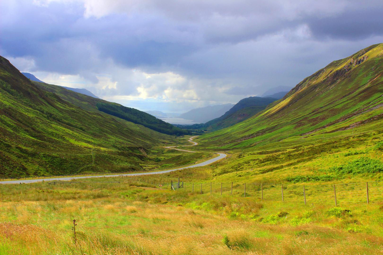 Grampaign Mountains Scotland