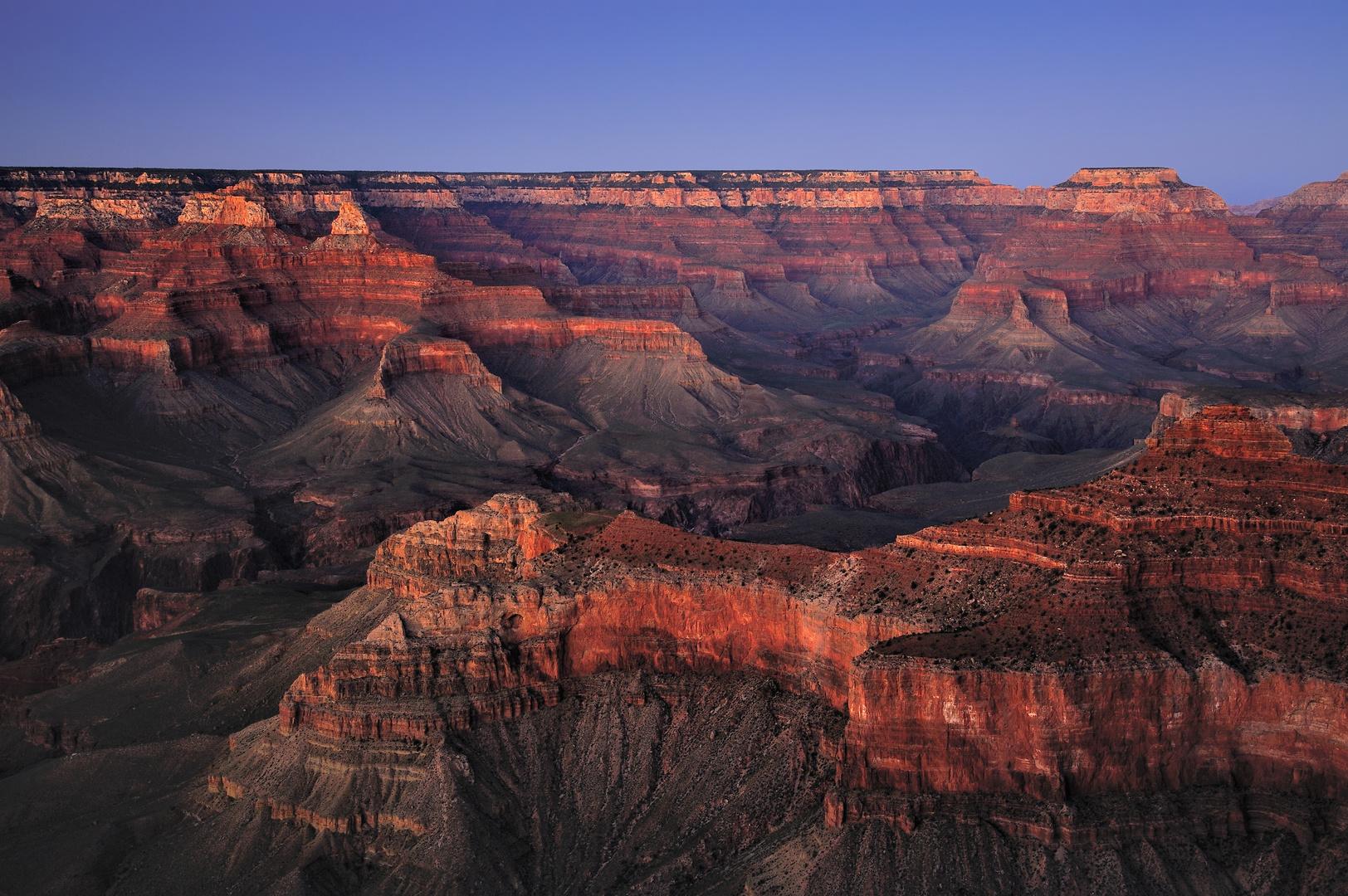 *Gran Canyon Afterglow*