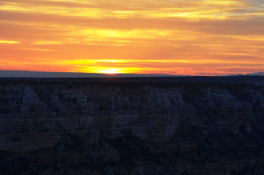 Gran Canyon sundown
