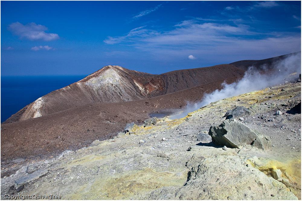 Gran Cratere, Vulcano.