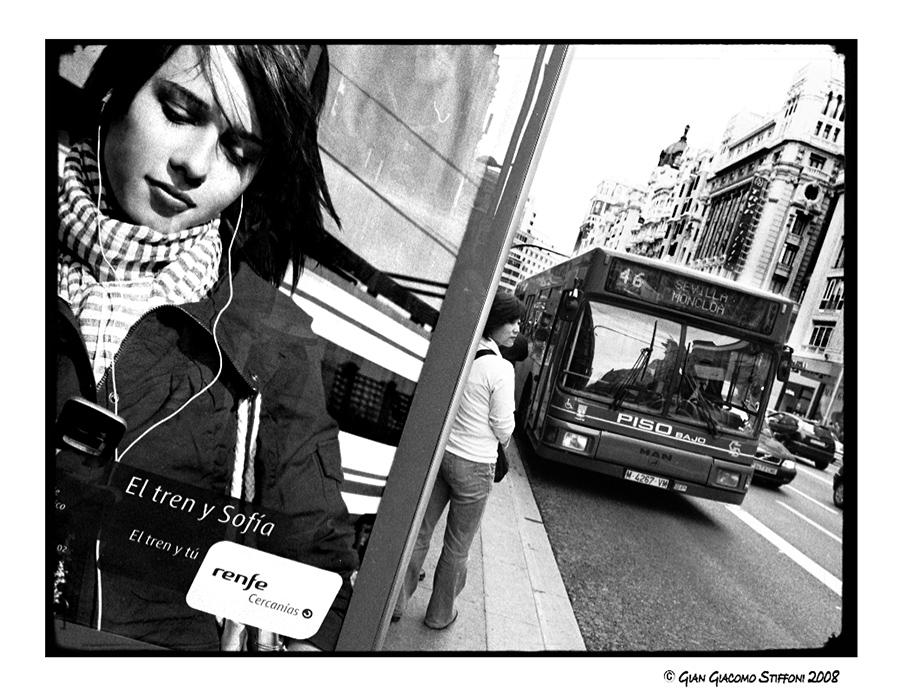 Gran Via. Madrid.