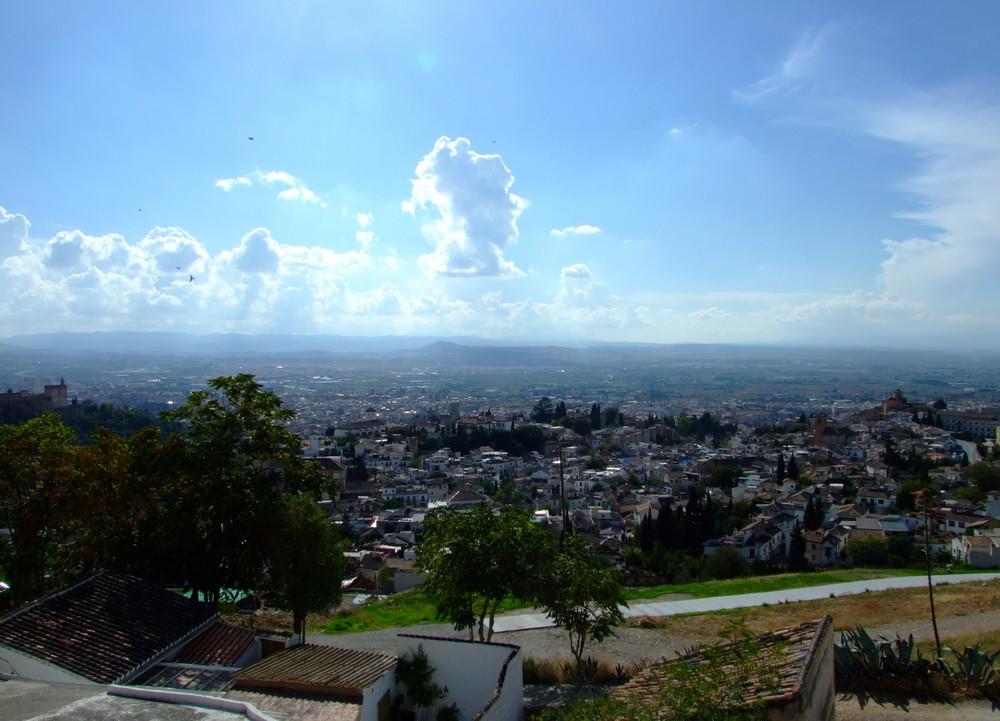 Granada am Nachmittag