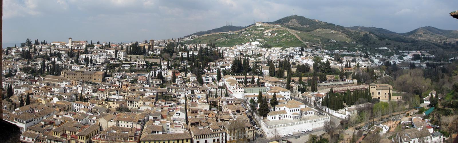 Granada - Ausblick von der Alhambra