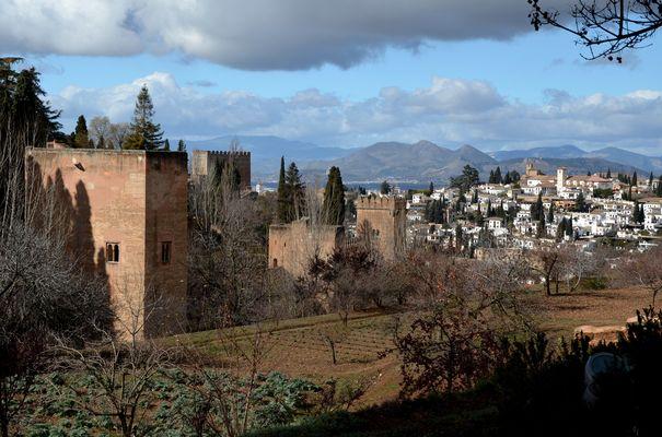Granada im Januar
