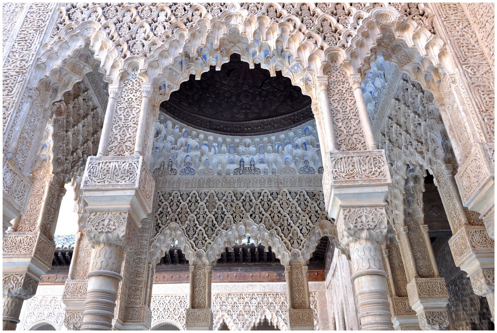 Granada - Im Nasridenpalast der Alhambra
