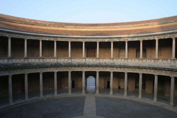 Granada - Palast Karl V.