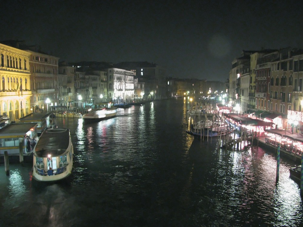 Grand canal nuit