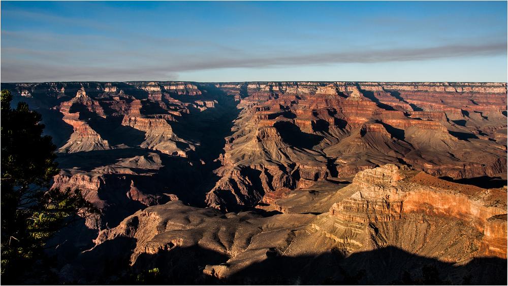 Grand Canyon am Abend ...