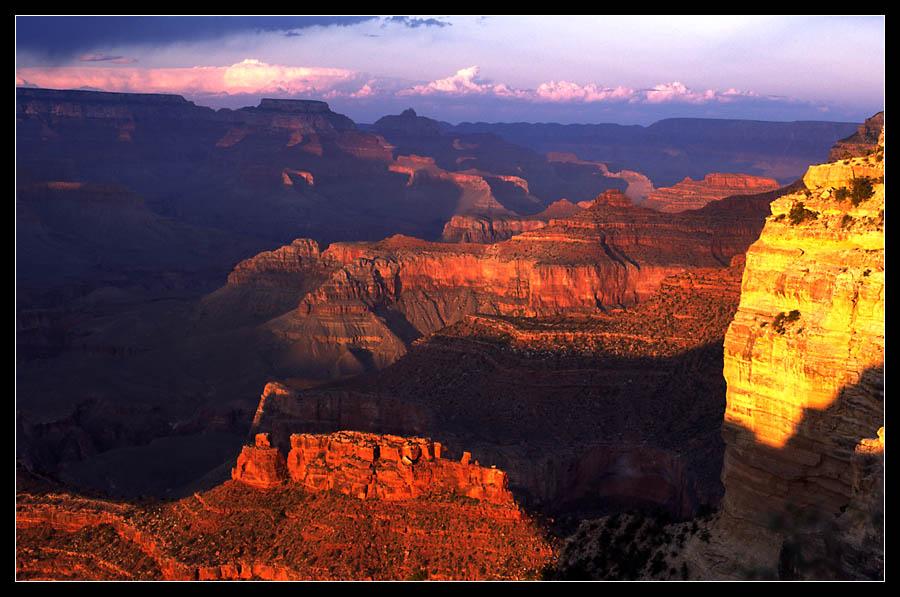 Grand Canyon am Abend