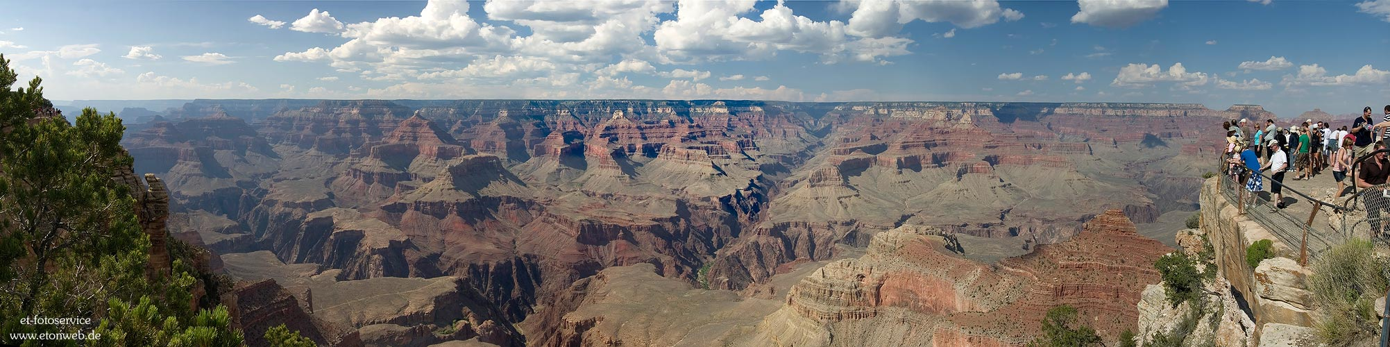 Grand Canyon - Blick vom South Rim