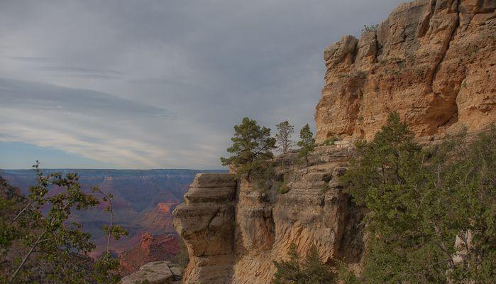 Grand Canyon gegen Abend