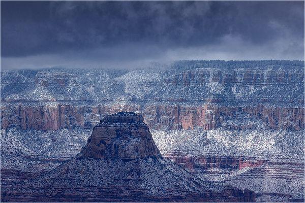 Grand Canyon im Schnee