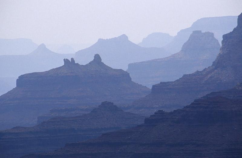 Grand Canyon in der Daemmerung