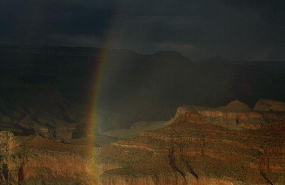 Grand Canyon Regenbogen